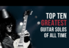 Radio NOVA Playlist: Top 10 Greatest Guitar Solos Of All Time