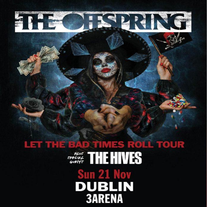 The Offspring Announce Dublin Show At 3Arena November 2021
