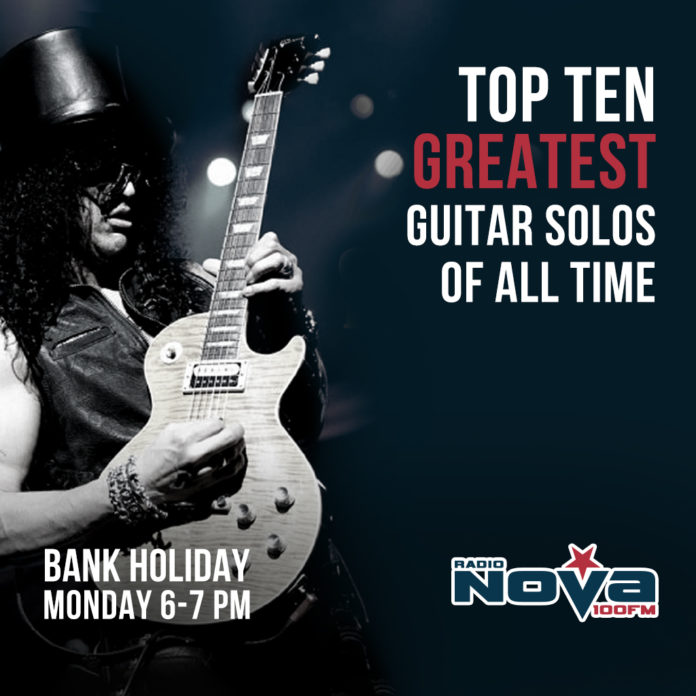 This Bank Holiday Monday We Are Counting Down The Top 10 Greatest Guitar Solos