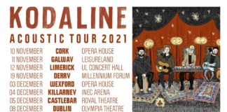 Kodaline Announce Acoustic Tour Around Ireland