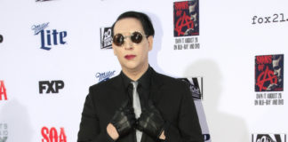 Marilyn Manson booked and released for alleged spitting incident