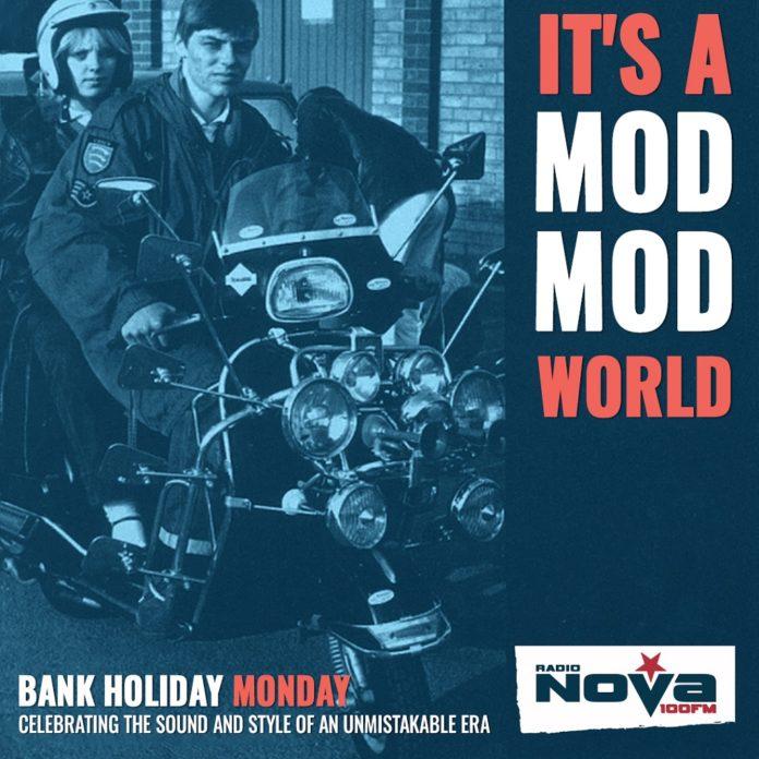 This Bank Holiday Monday Is A MOD MONDAY on Radio NOVA!