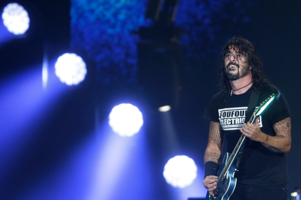 Dave Grohl Discloses His Pre-Show Ritual