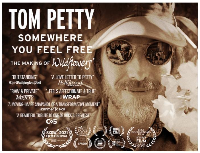 Tom Petty documentary poster