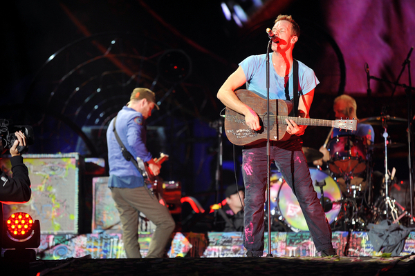 Mysterious Billboard Teases New Coldplay Album